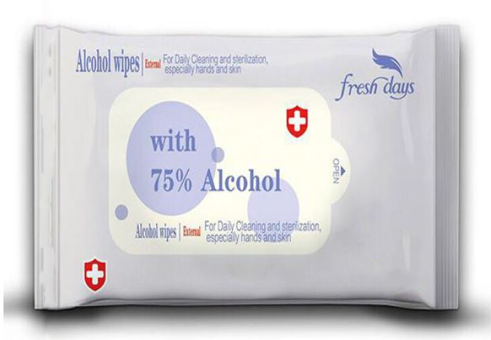 Alcohol wipes 75/% Alcohol